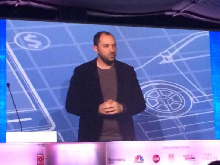 Jan Koum, CEO of WhatsApp